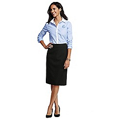 Lands' End - Black pencil skirt