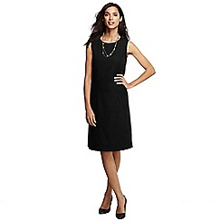 Lands' End - Black women's woven sheath dress