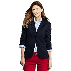 Lands' End - Blue women's regular navy blazer