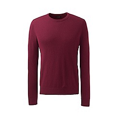 Lands' End - Purple crew neck cashmere sweater