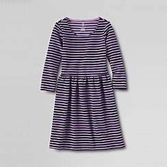 Lands' End - Purple little girls' ponte dress