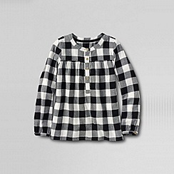 Lands' End - Multi girls' long sleeve woven peasant top