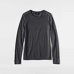 Lands' End - Grey women's classic cashmere jumper