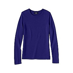 Lands' End - Purple women's classic cashmere jumper