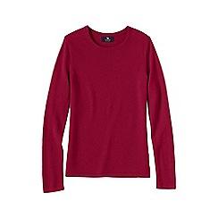 Lands' End - Pink women's classic cashmere jumper