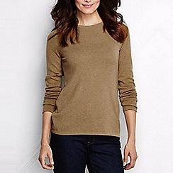 Lands' End - Brown women's classic cashmere jumper