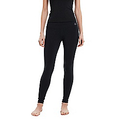 Lands' End - Black women's shaping workout leggings