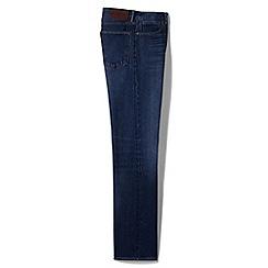 Lands' End - Blue new denim straight fit jeans