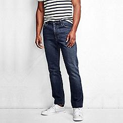 Lands' End - Blue men's slim fit denim jeans
