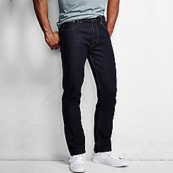 Lands' End - Blue men's slim fit denim jeans