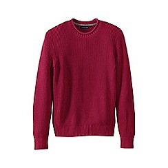 Lands' End - Pink men's gifting shaker roll neck