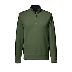 Lands' End - Green regular brushed rib pullover