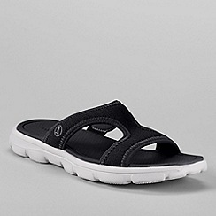 Lands' End - Black women's gatas slip on sandals