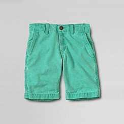 Lands' End - Green little boy's novelty cadet short