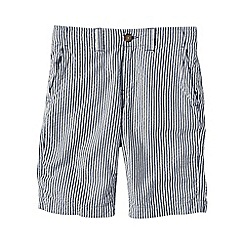 Lands' End - Blue little boys' seersucker cadet shorts