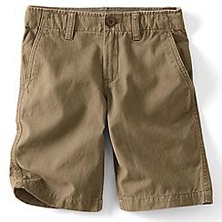Lands' End - Boys' beige cadet shorts
