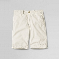 Lands' End - Cream little boys' cadet short