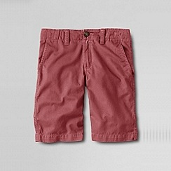 Lands' End - Red little boys' cadet short