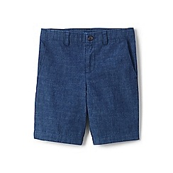 Lands' End - Boys' blue chambray cadet shorts
