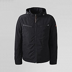 Lands' End - Black men's moto jacket