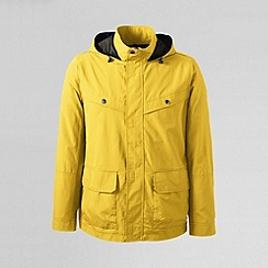 Lands' End - Yellow men's storm raker jacket