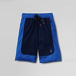 Lands' End - Blue little boys' mesh shorts
