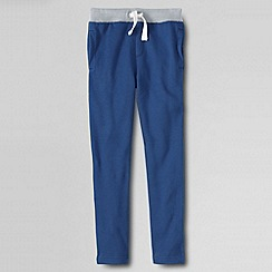 Lands' End - Blue little boys' slim sweat pant