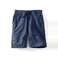 Lands' End - Boys Toddler Blue pull-on beach shorts