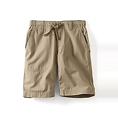 Lands' End - Green boys' pull-on beach shorts
