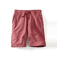 Lands' End - Red boys' pull-on beach shorts