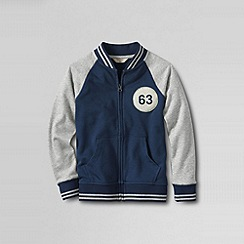 Lands' End - Blue little boys' varsity jacket