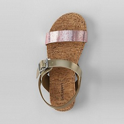 Lands' End - Brown girls' kylie play sandals