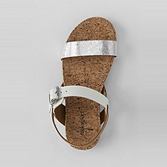 Lands' End - Cream girls' kylie play sandals