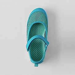 Lands' End - Blue girls' mary jane water shoes