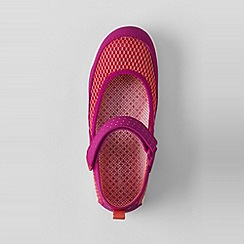 Lands' End - Pink girls' mary jane water shoes