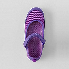 Lands' End - Purple girls' mary jane water shoes