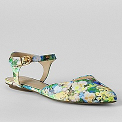 Lands' End - Multi women's evelyn point toe flat shoes