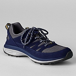 Lands' End - Blue women's trekker shoes