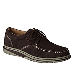 Lands' End - Brown men's casual comfort lace-ups