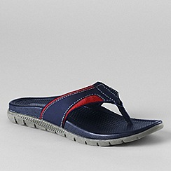 Lands' End - Blue men's sport flip flops