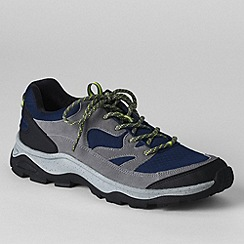 Lands' End - Grey men's trekker shoes