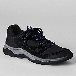 Lands' End - Black men's trekker shoes