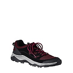 Lands' End - Red men's trekker shoes
