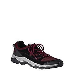 Lands' End - Red men's trekker shoes