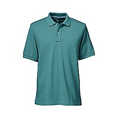 Lands' End - Light blue short sleeve original pique polo shirt