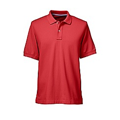 Lands' End - Red short sleeve original pique polo shirt