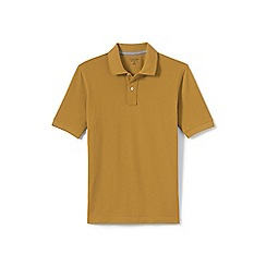 Lands' End - Yellow short sleeve original pique polo shirt
