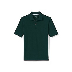 Lands' End - Green short sleeve original pique polo shirt