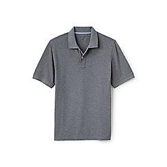 Lands' End - Grey short sleeve original pique polo shirt