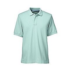 Lands' End - Light blue short sleeve original pique polo shirt